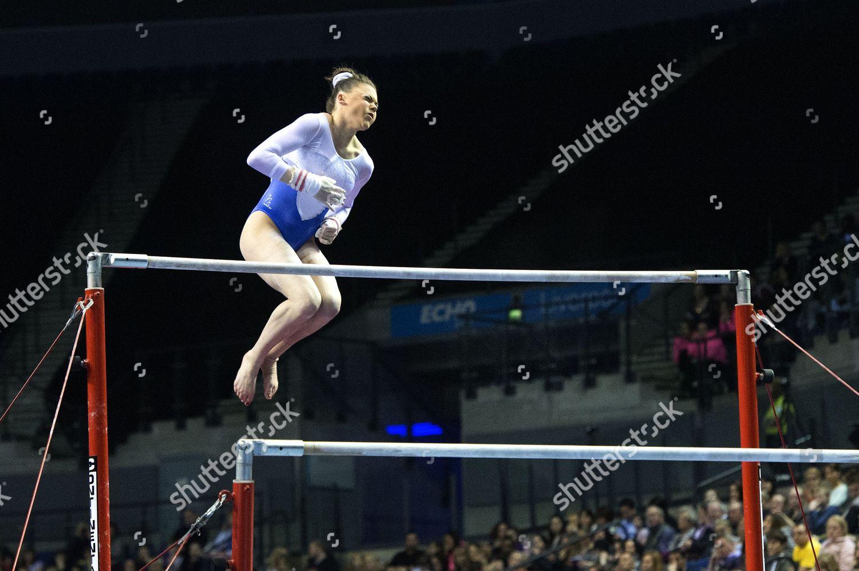 Raer Theaker competes on Bars British Gymnastics Editorial