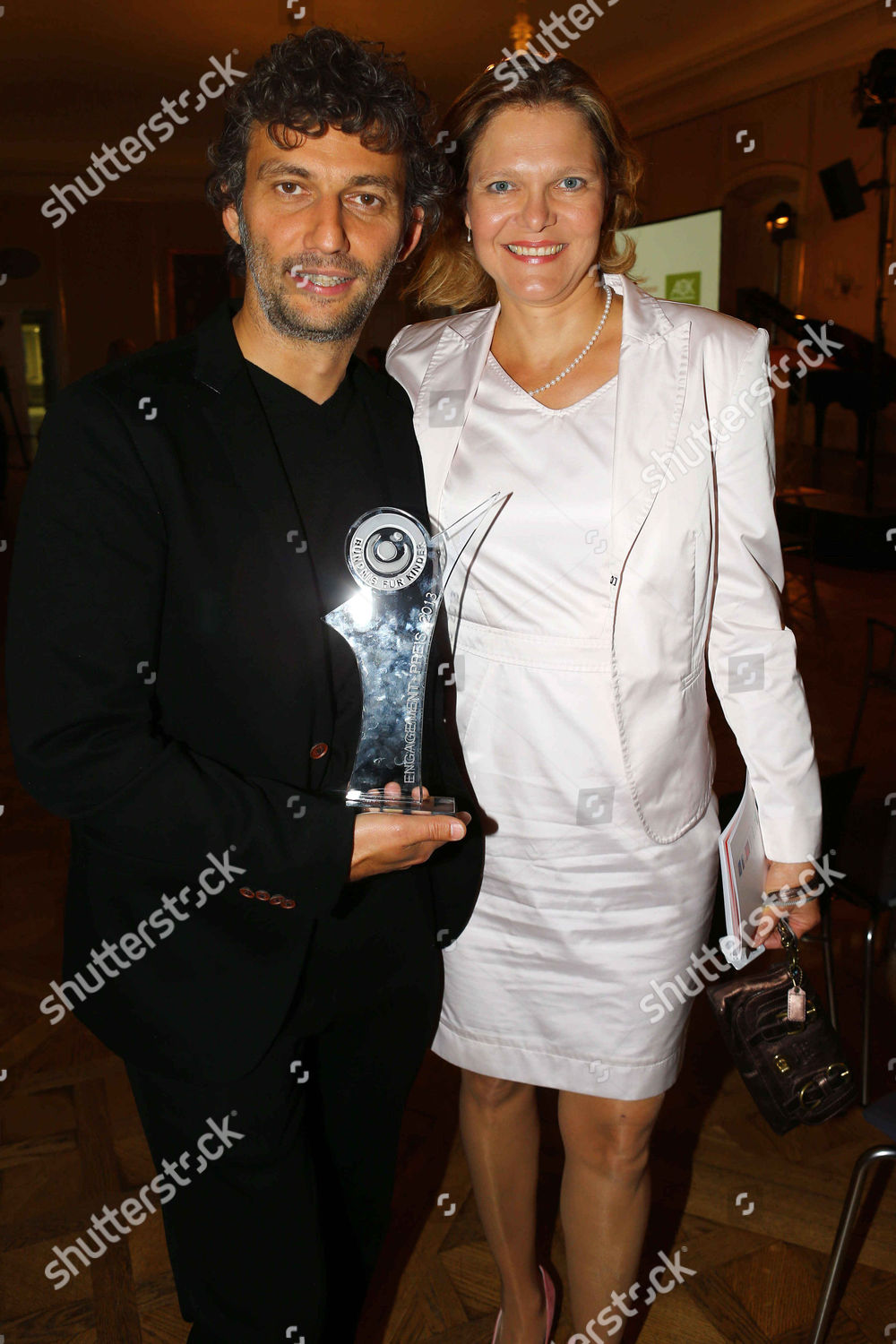 Jonas Kaufmann wife Margarete Joswig Editorial Stock Photo