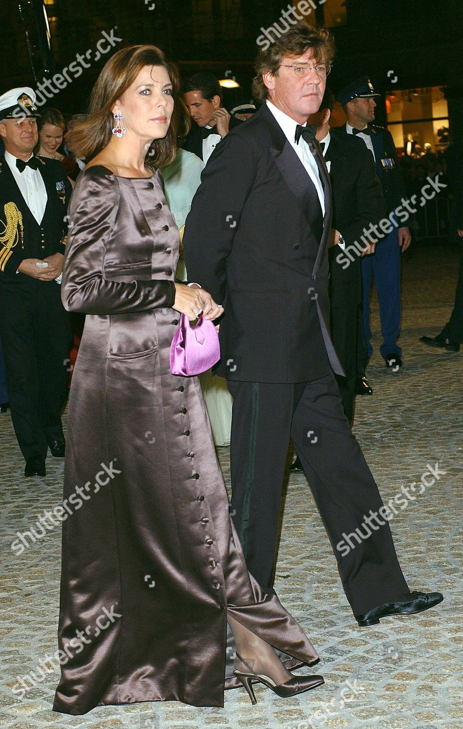 PRE WEDDING DINNER PARTY FOR PRINCE WILLEM AND MAXIMA ZORREGUIETA, ROYAL PALACE, AMSTERDAM, NETHERLANDS - 31 JAN 2002: стоковое фото
