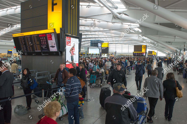 Severe Passenger Delays Terminal 5 Heathrow Today Editorial