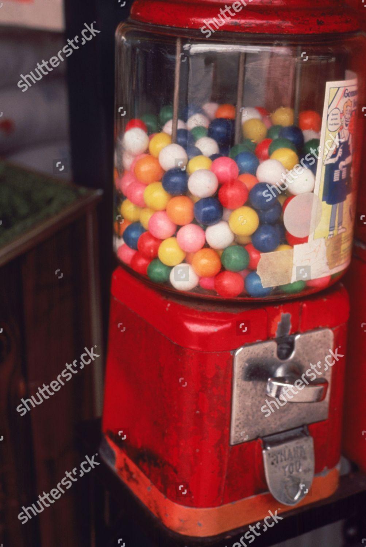 Gumball machine Editorial Stock Photo - Stock Image   Shutterstock