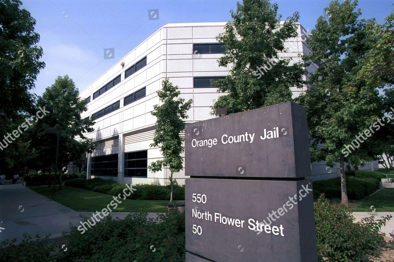 Orange County Jail Editorial Stock Photo - Stock Image