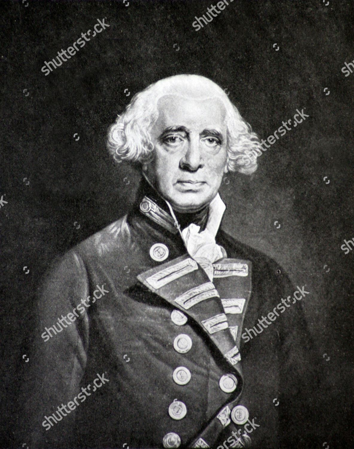 Something also admiral black dick howe are