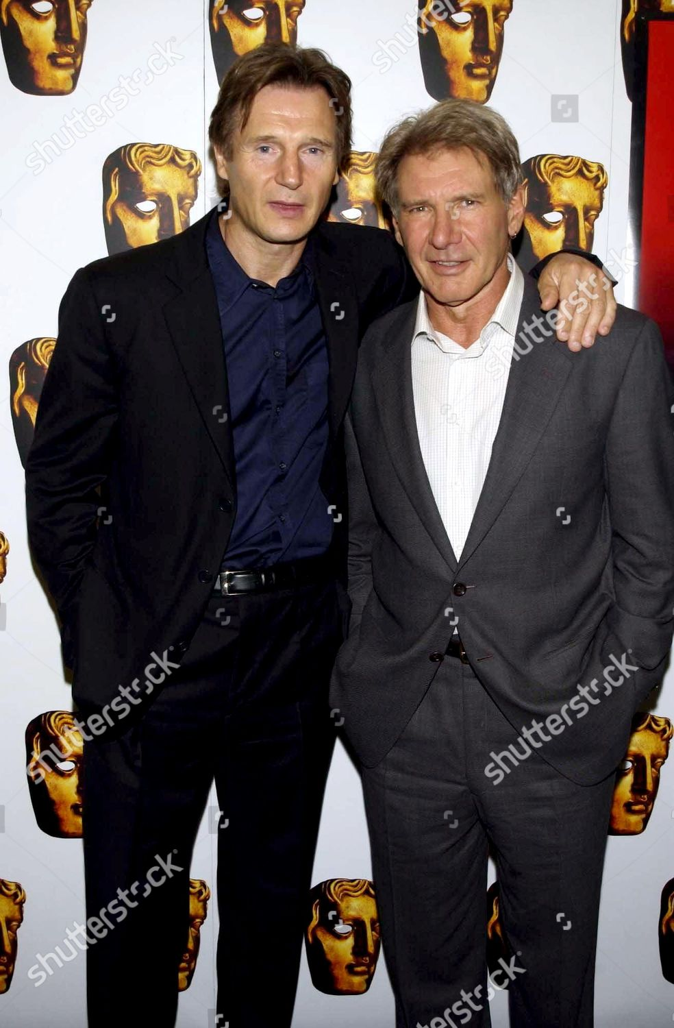 ¿Cuánto mide Harrison Ford? - Altura - Real height K19-the-widowmaker-film-promotion-party-london-britain-shutterstock-editorial-389315f