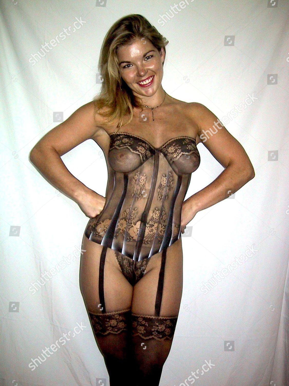 Body Painted Corset Suspender Belt Stockings Editorial Stock Photo Stock Image Shutterstock