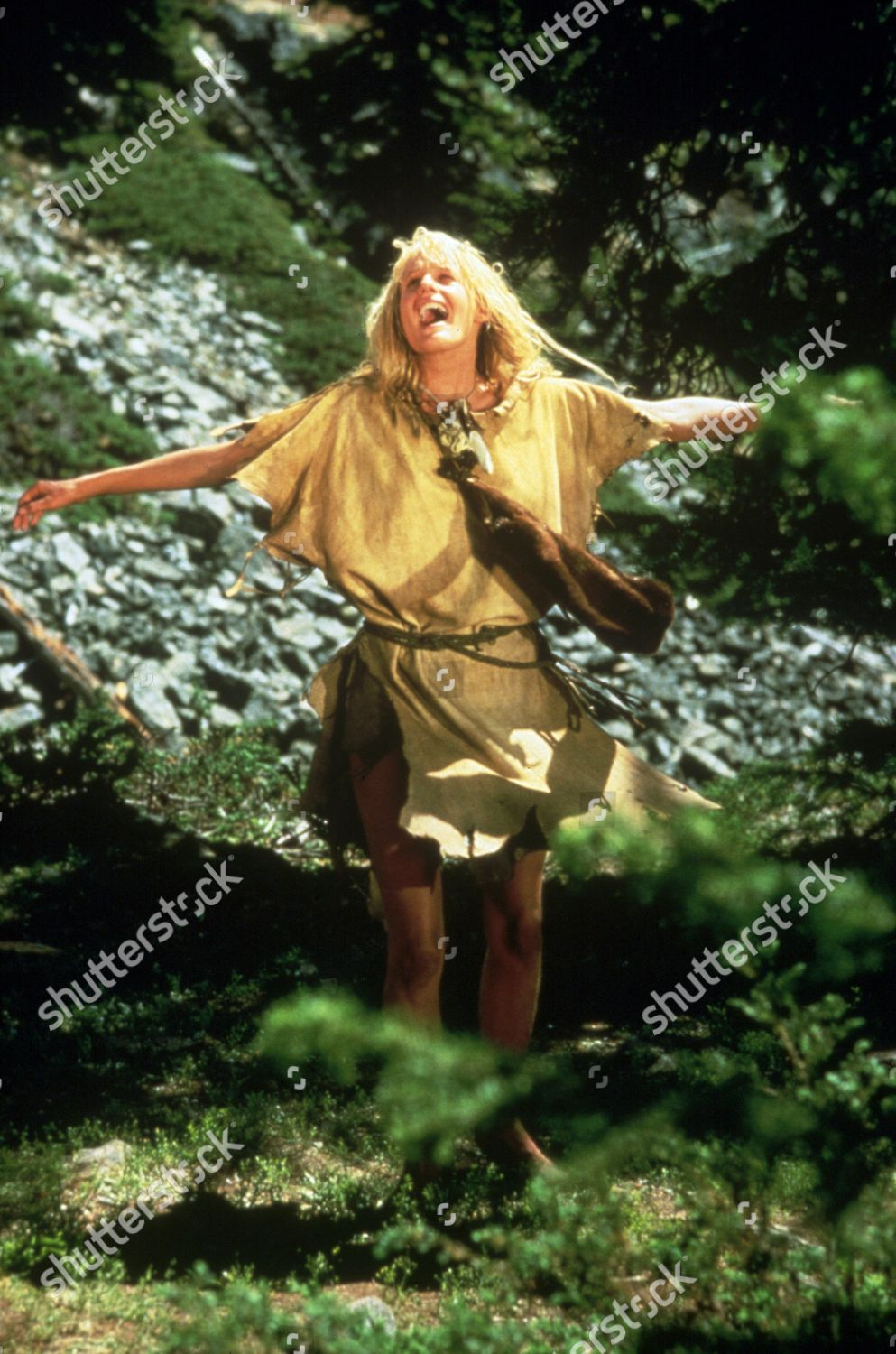 Film Stills Clan Cave Bear 1986 Clothing Editorial Stock Photo