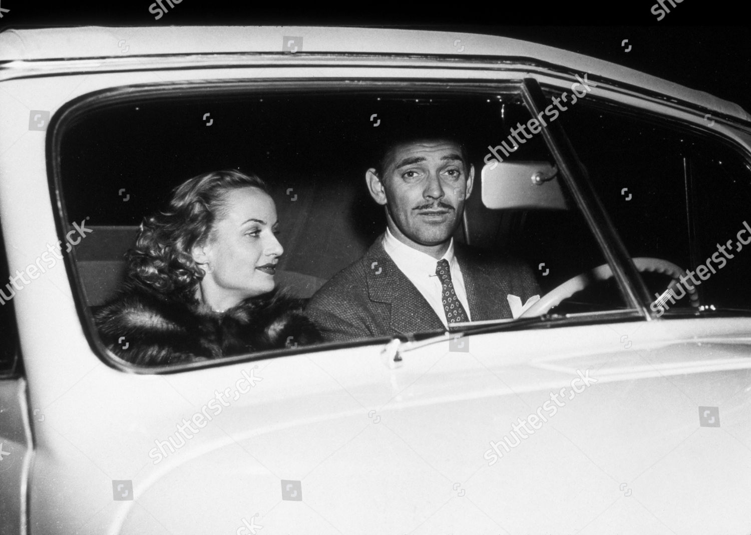 FILM STILLS 1941 CLARK GABLE CAROLE LOMBARD Editorial Stock Photo ...