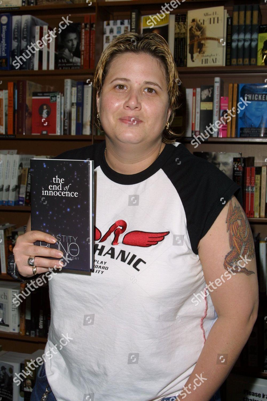 d5579572f16 Chastity Bono daughter Cher Sonny Bono instore Editorial Stock Photo ...