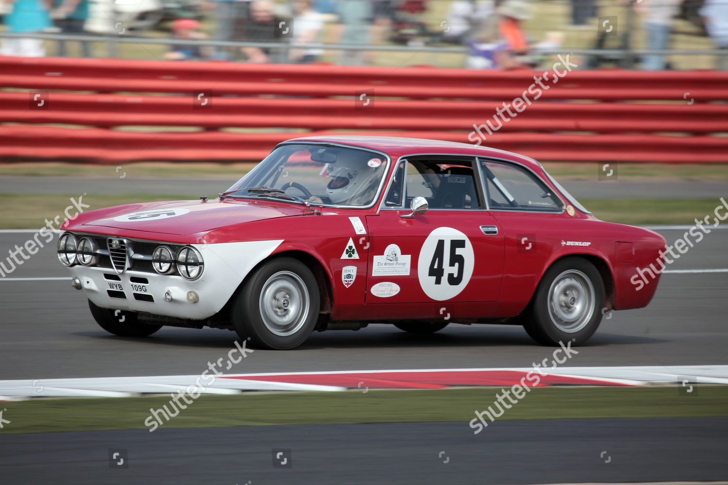 editorial stock photo of 1969 alfa romeo 1750 gtv 105series