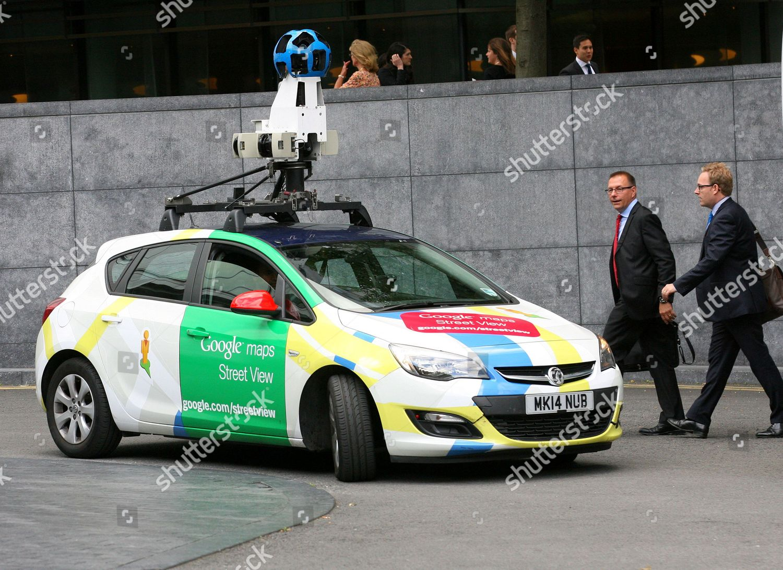 Central London Google Map.Google Camera Car Seen Central London Editorial Stock Photo Stock