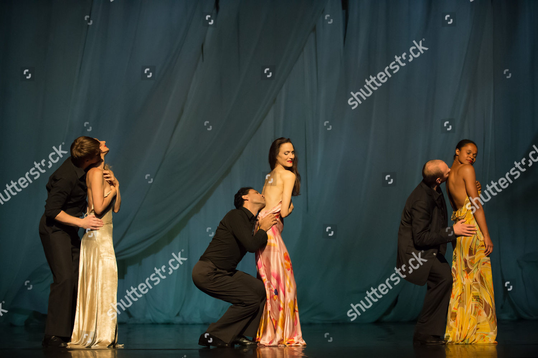 Stock photo of Sweet Mambo, Tanztheater Wuppertal Pina Bausch, Playhouse, Edinburgh International Festival, Scotland, Britain - 22 Aug 2014