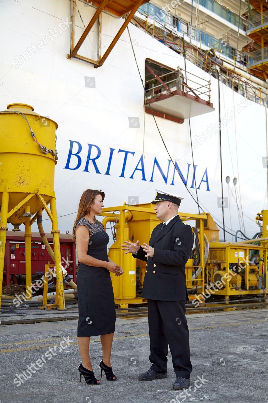 Suzi Perry Captain Britannia Paul Brown Editorial Stock Photo