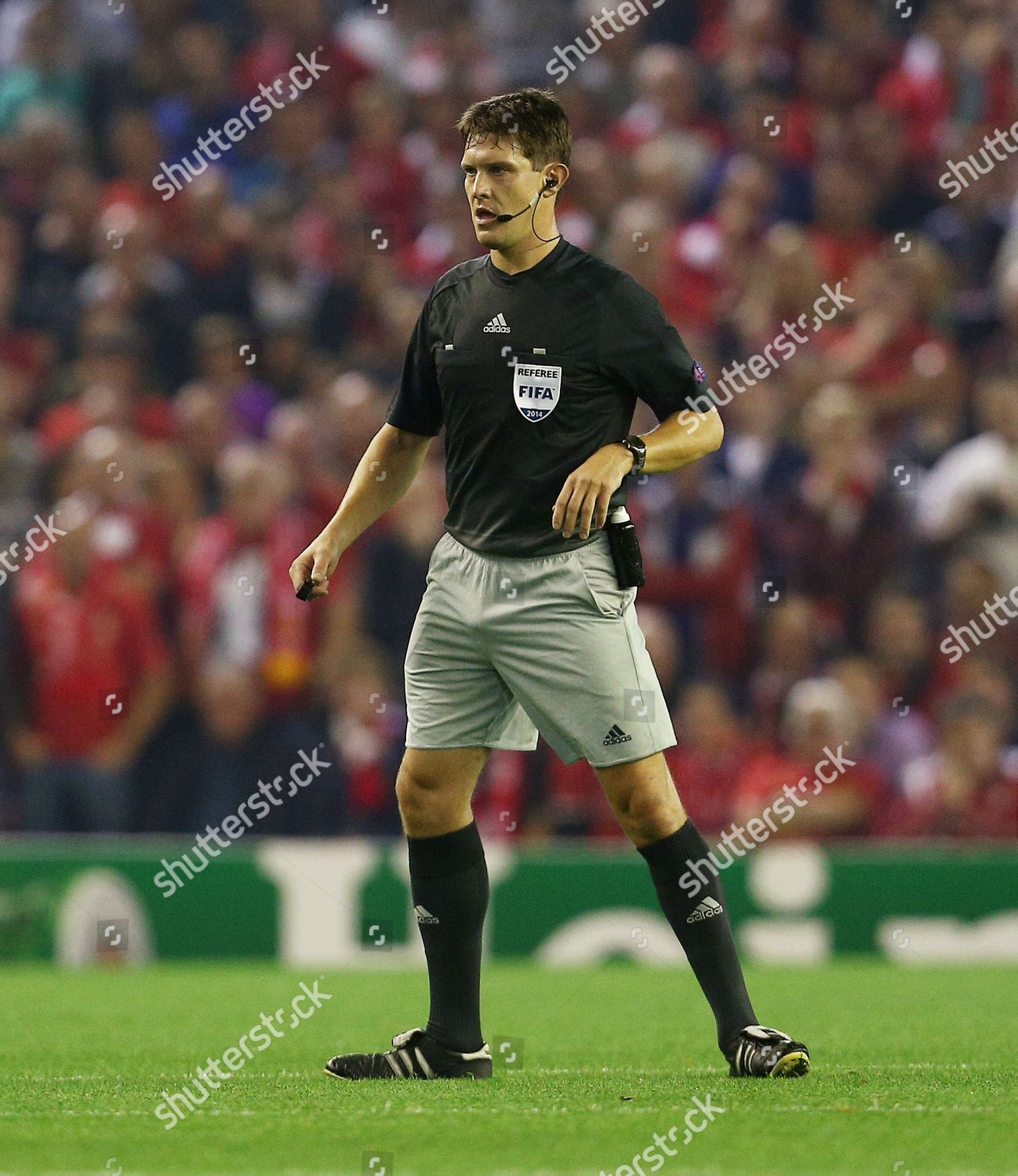 Referee Mr Matej Jug Editorial Stock Photo Stock Image