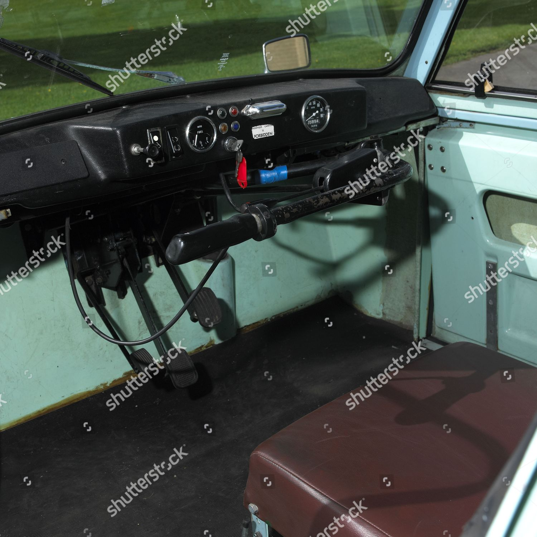 Interior 1966 Ac Model 70 Invalid Carriage Editorial Stock Photo