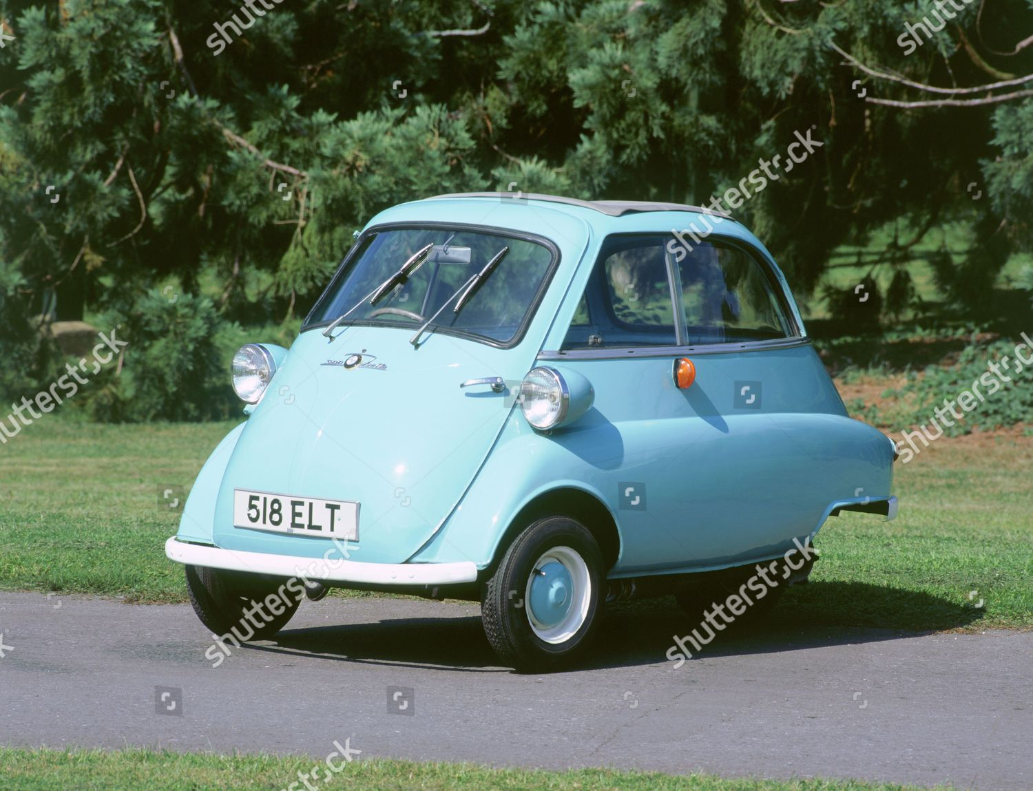1962 Bmw Isetta 300 Bubble Car Editorial Stock Photo Stock