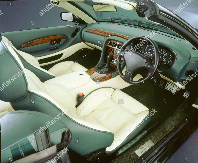 Interior 2001 Aston Martin Db7 Vantage V12 Foto Editorial En Stock Imagen En Stock Shutterstock