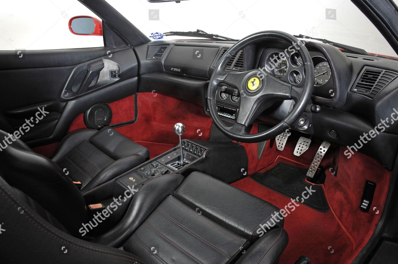 1994 Ferrari F355 Berlinetta interior Editorial Stock Photo