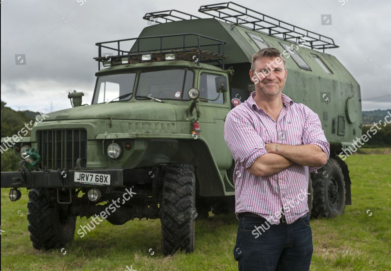 Chris Armstrong converted Russian Ural175D truck Editorial
