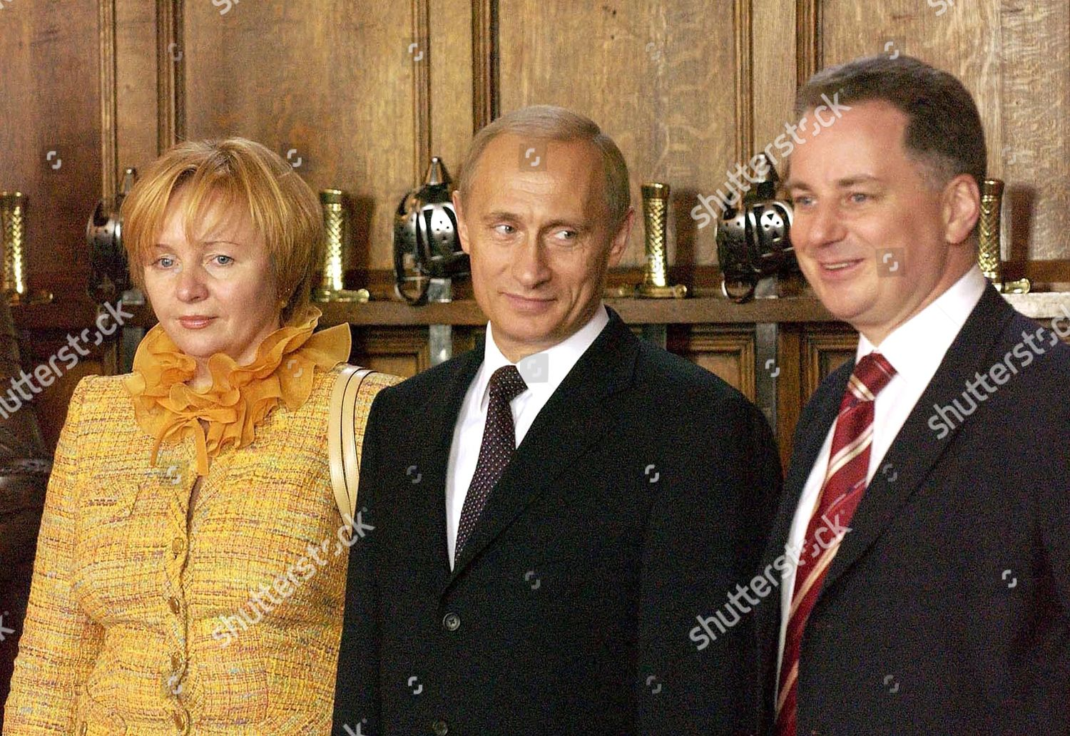 Vladimir Putin C Along His Wife Lyudmila Editorial Stock Photo Stock Image Shutterstock