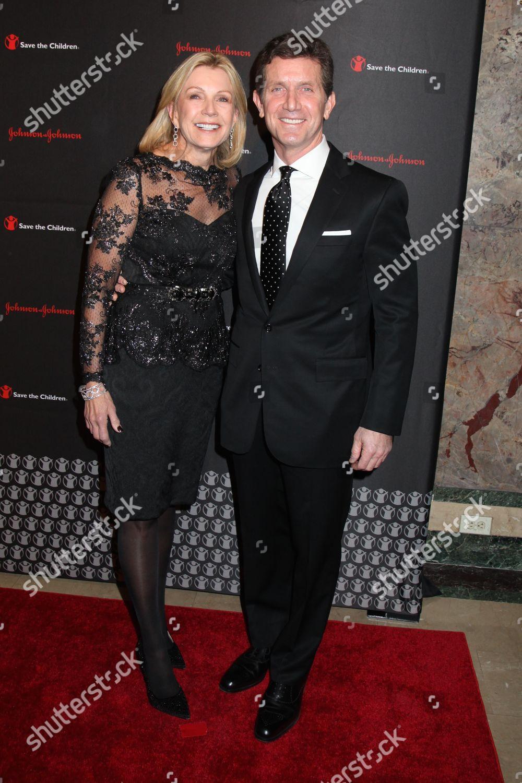 Alex Gorsky with calm, Wife Patricia