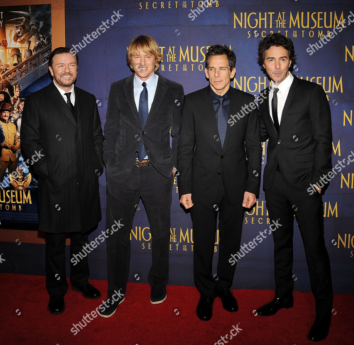 'Night at the Museum: Secret of the Tomb' film premiere, New York, America - 11 Dec 2014: стоковое фото