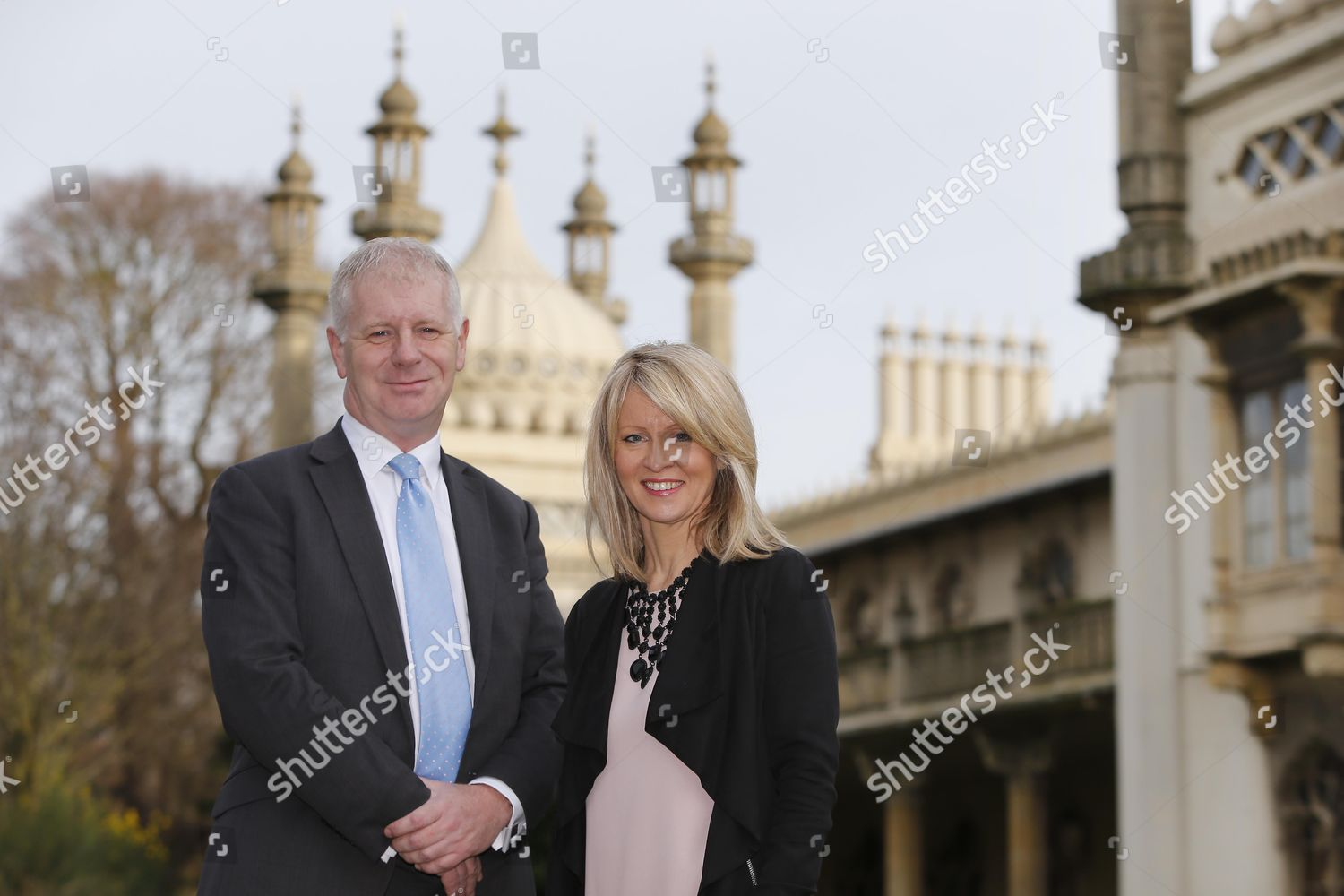 Candid Camera:  Clarence Mitchell - Page 4 Esther-mcvey-and-clarence-mitchell-photocall-royal-pavillion-brighton-britain-shutterstock-editorial-4302683h