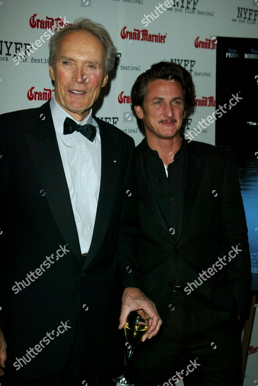 Clint Eastwood Sean Penn Editorial Stock Photo Stock Image