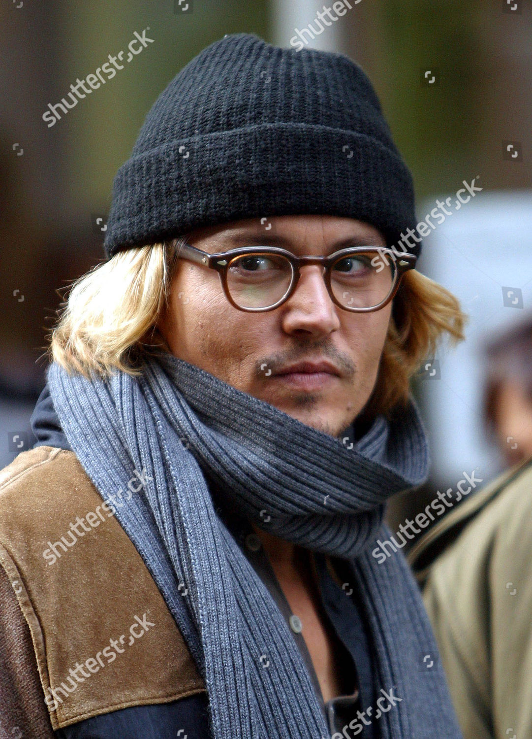 Johnny Depp Filming Thriller Based On Novel Editorial Stock Photo
