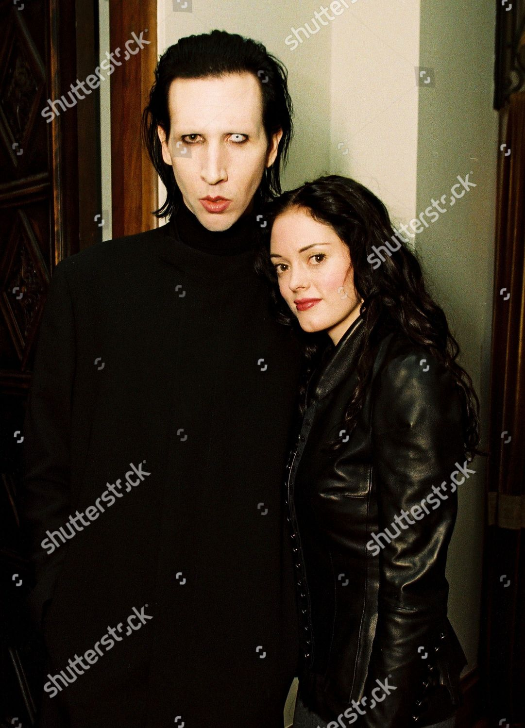 rose mcgowan und marilyn manson