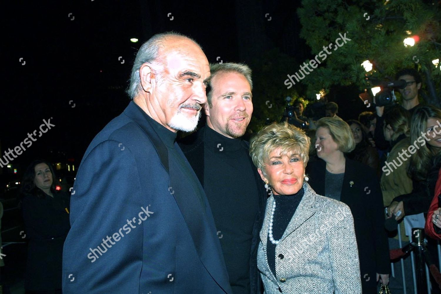 120100beverly Hills Ca Sean Connery Son Jason Wife Editorial Stock Photo Stock Image Shutterstock