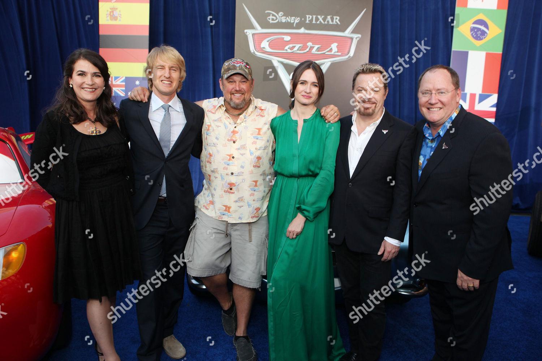 The World Premiere of Disney/Pixar's 'Cars 2' Hollywood Los Angeles, America.: стоковое фото