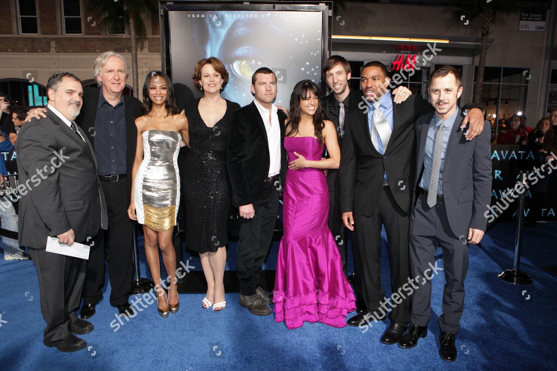 Hollywood Ca December 16 Avatar Cast 20th Editorial Stock Photo Stock Image Shutterstock