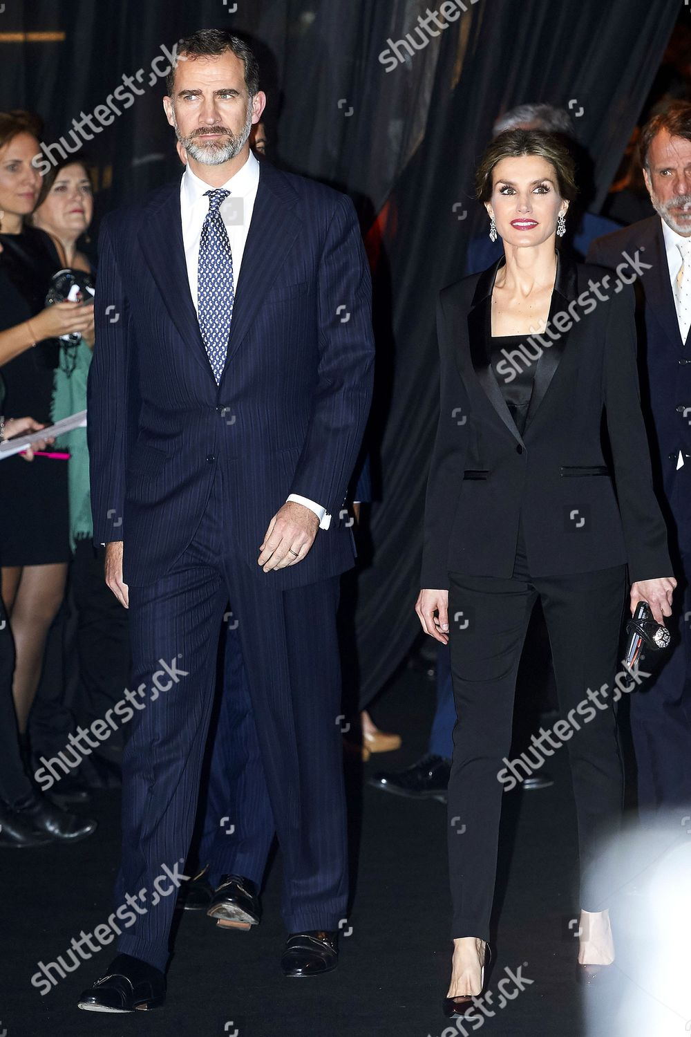 King Felipe VI Queen Letizia Editorial Stock Photo - Stock