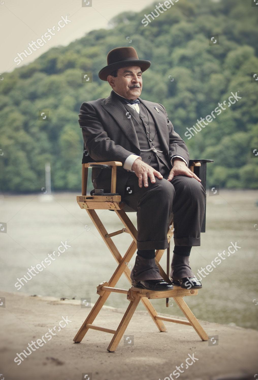 Stockfoto von 'Agatha Christie - Poirot - Dead Man's Folly' TV Programme. - 30 Oct 2013