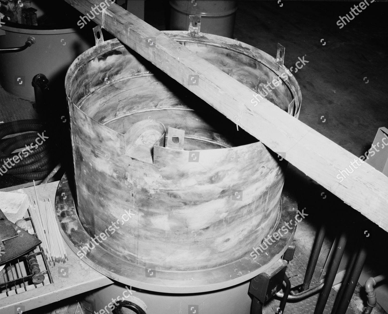 Foundry furnace used process depleted Uranium Beryllium