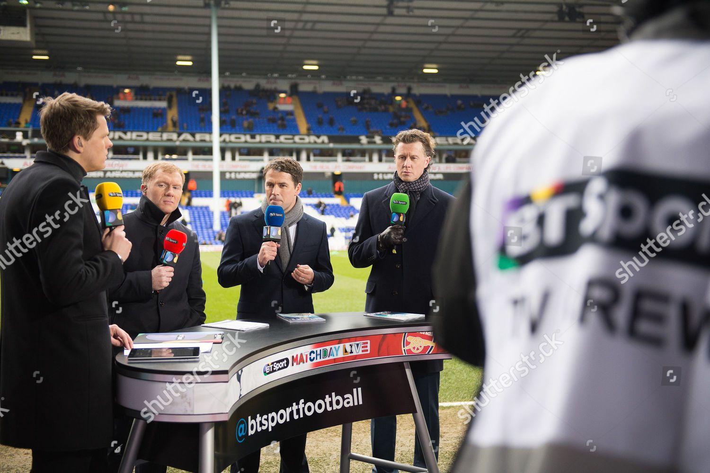 BT Sport Premier League coverage Jake Humphrey Editorial Stock Photo