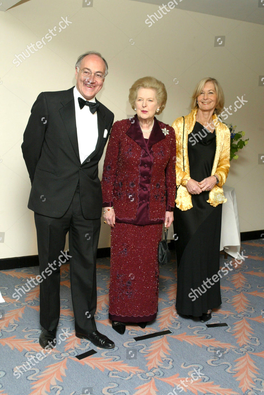 MICHAEL HOWARD WIFE SANDRA MARGARET THATCHER Editorial Stock Photo ...