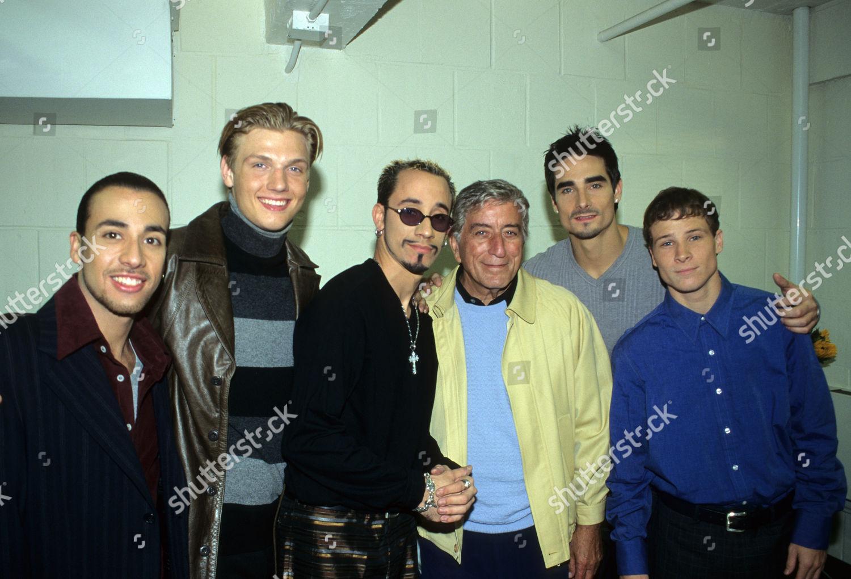 Backstreet Boys Tony Bennett during VH1 Special New