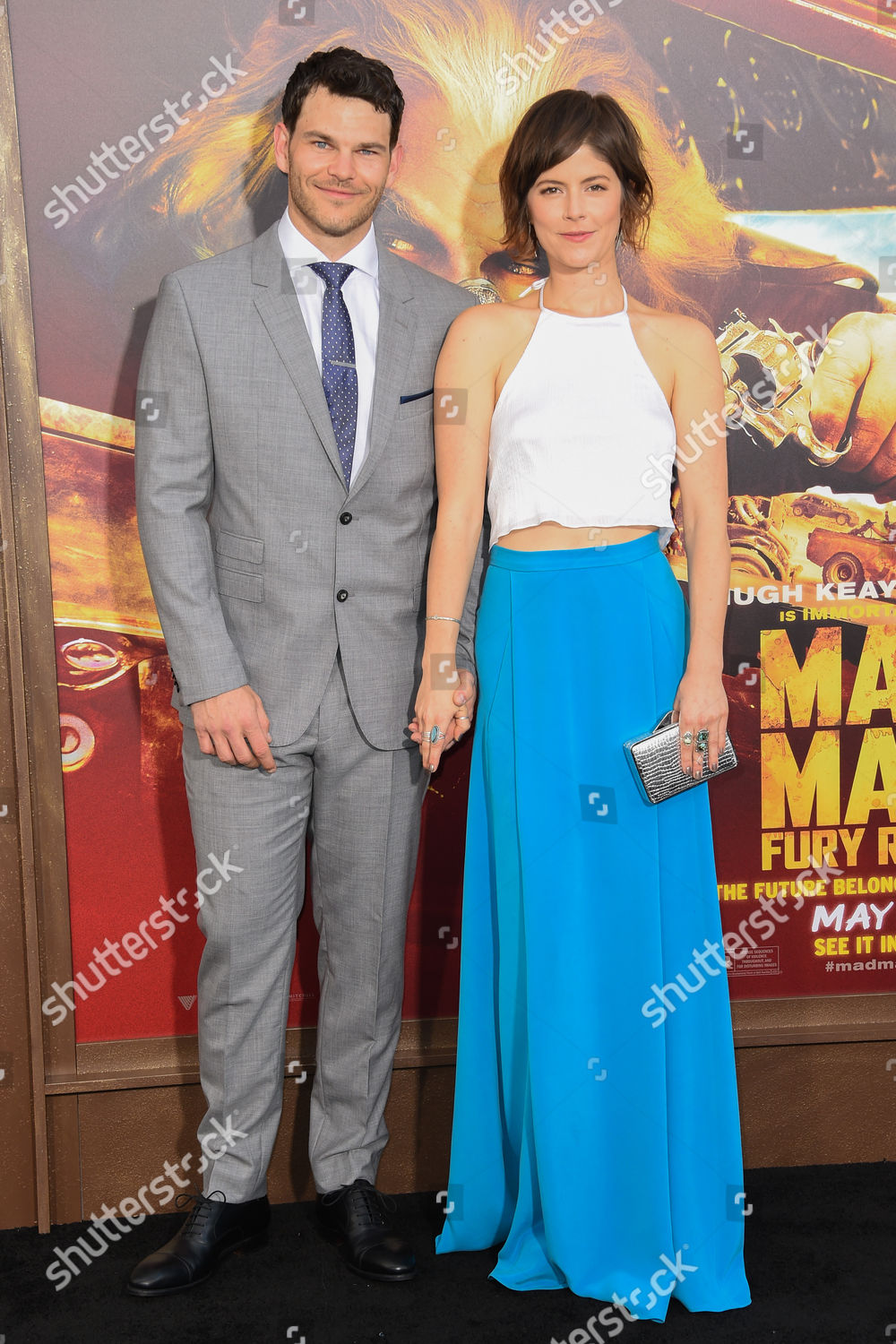 Stock photo of 'Mad Max: Fury Road' film premiere, Los Angeles, America - 07 May 2015