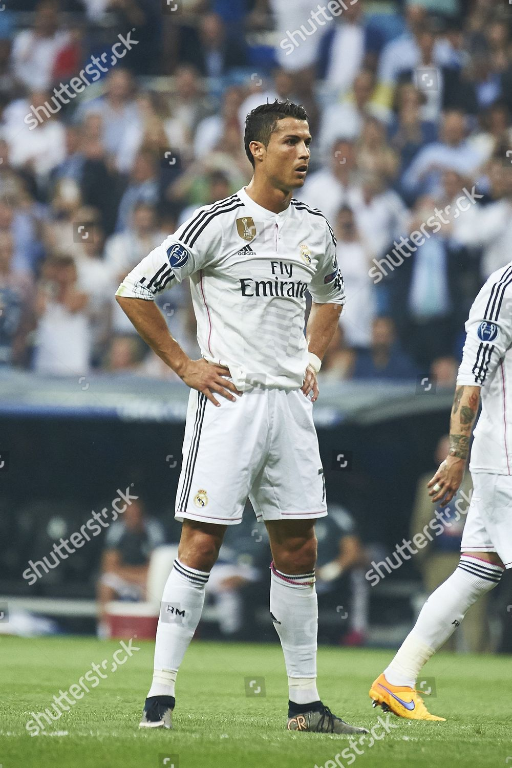 Cristiano Ronaldo Real Madrid Fc Action During Editorial Stock Photo Stock Image Shutterstock