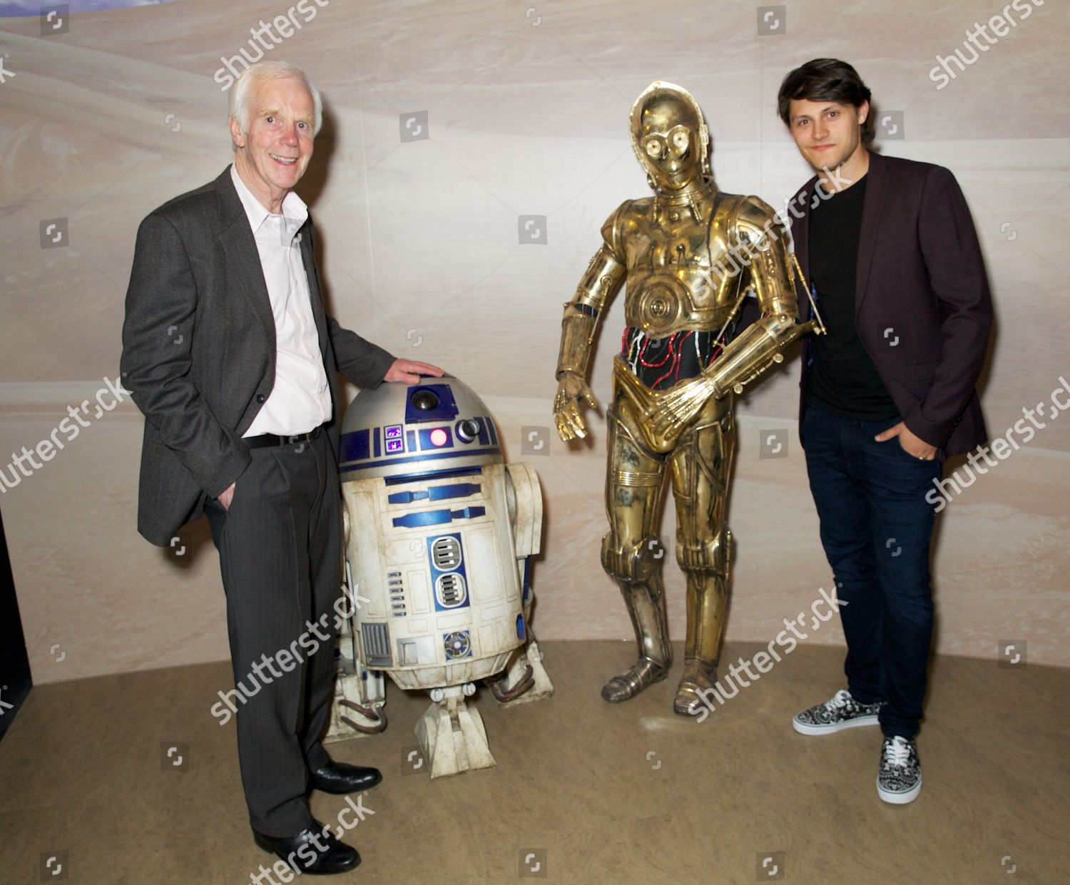 Stock photo of 'Star Wars at Madame Tussauds' VIP opening, London, Britain - 13 May 2015