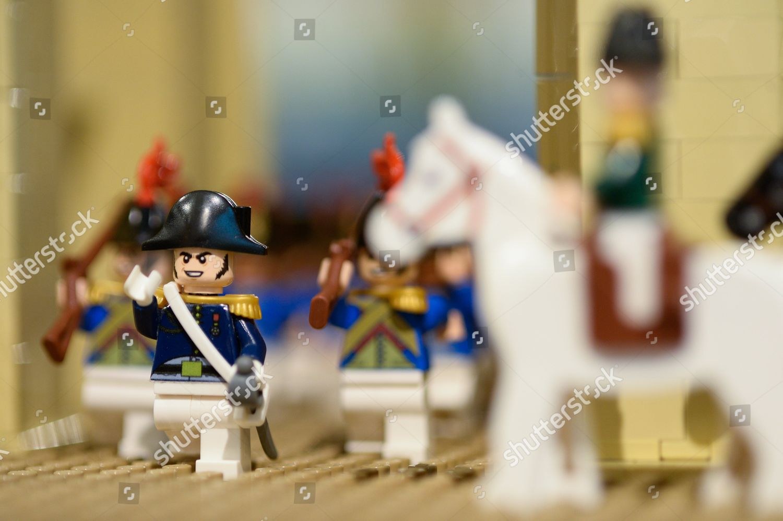Lego Napoleon soldiers Editorial Stock Photo - Stock Image