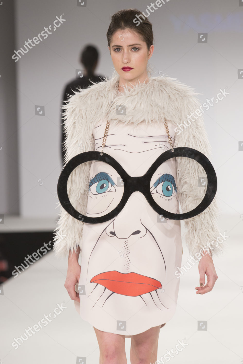Model On Catwalk Wearing Collection Graduate Student Editorial Stock Photo Stock Image Shutterstock