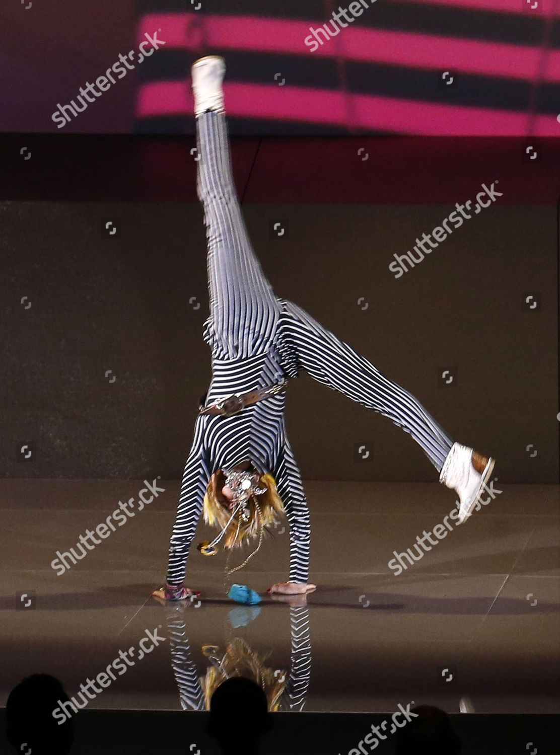 Betsey Johnson Does Cartwheel On Stage Editorial Stock Photo Stock Image Shutterstock