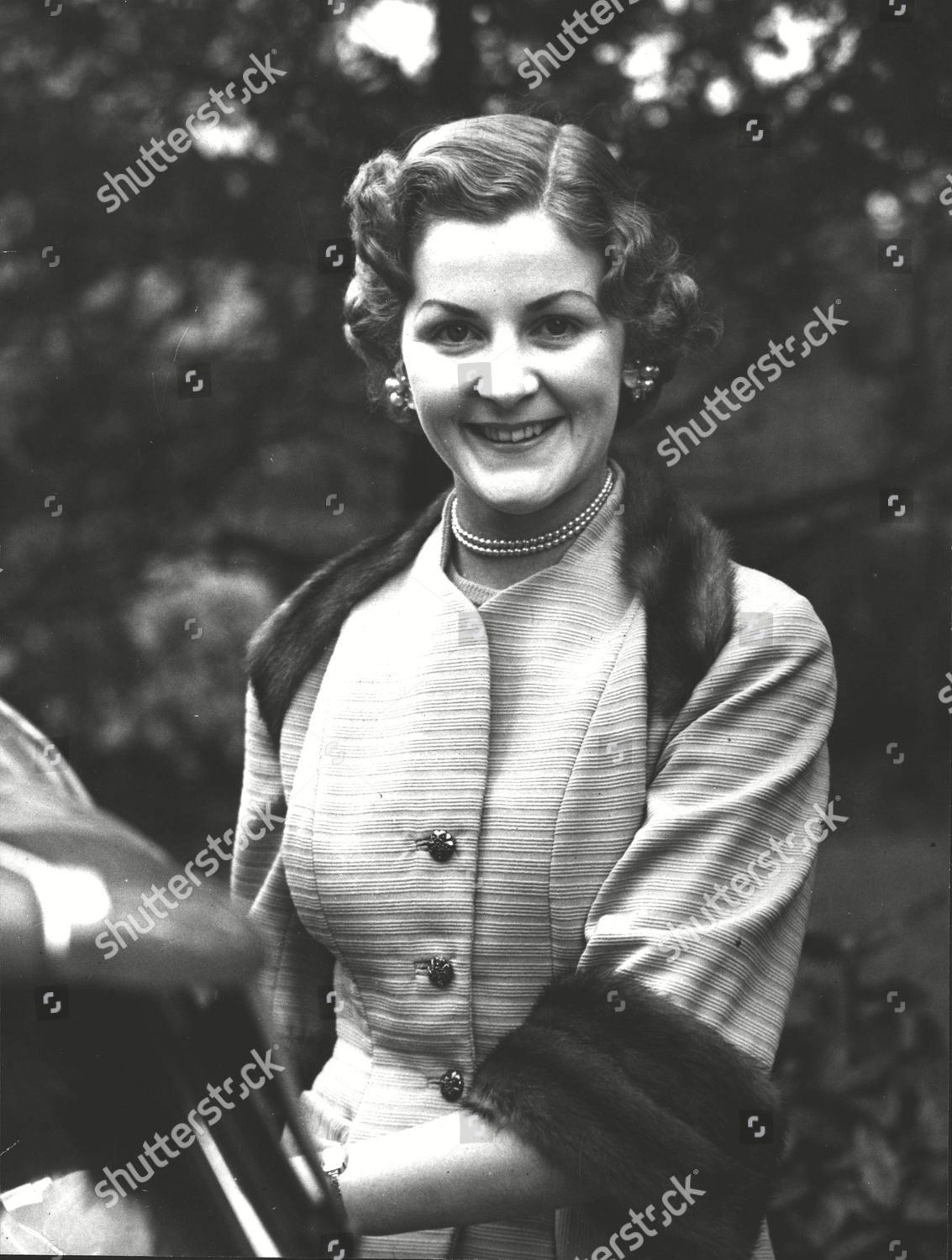Miss Wendy Ryall Whose Mother Mrs Kathleen Editorial Stock