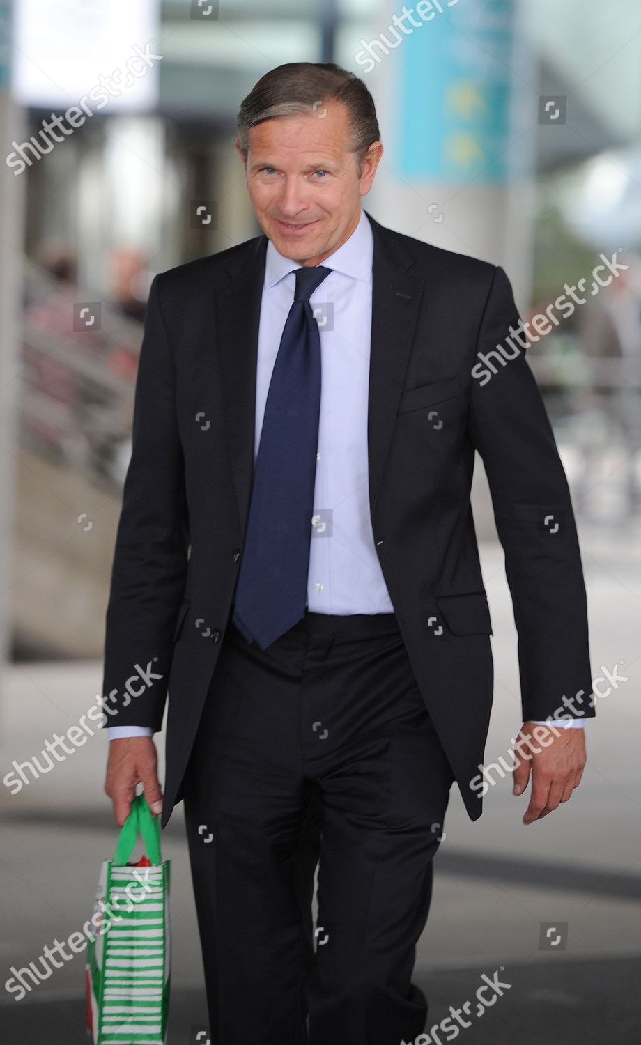 Marc Bolland Ceo Marks Spencer Leaves Agm Editorial Stock Photo