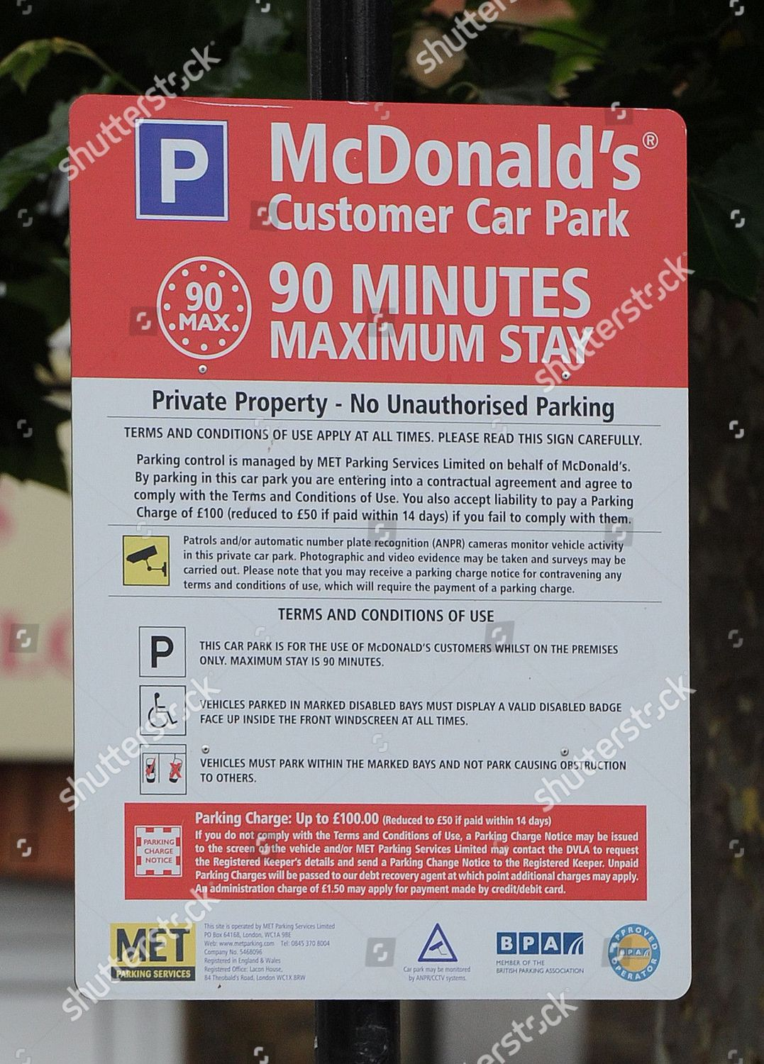 Met Parking Services >> Mcdonalds Uxbridge One Many Mcdonalds Install Signs