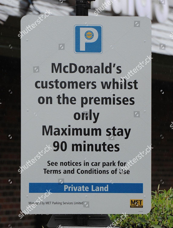 Met Parking Services >> Mcdonalds Uxbridge One Many Mcdonalds Install Signs