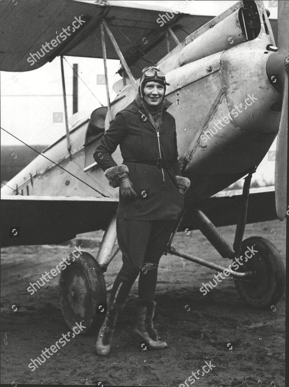 Miss tib Watson Winner Scottish Flying Clubs Editorial Stock