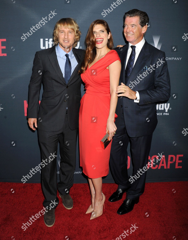 'No Escape' film premiere, Los Angeles, America - 17 Aug 2015: стоковое фото